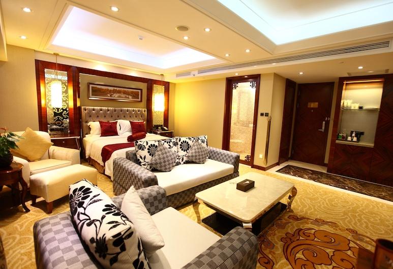 Inner Mongolia Hotel Forbidden City, Pekín, Habitación doble Deluxe (Domestic Residence Only), Habitación