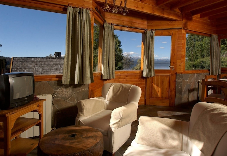 Cabañas Las Marias Del Nahuel, San Carlos de Bariloche, Bungalow (4 People), Living Room