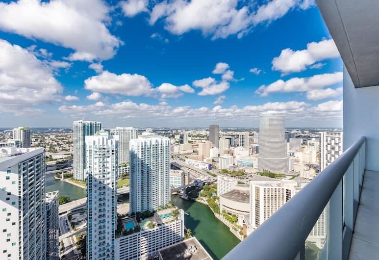 Icon by Design Suites Miami, Miami, Deluxe Apart Daire, 1 Yatak Odası, Balkon, Okyanus Manzaralı (1 King Bed and 1 Sofa Bed), Oda