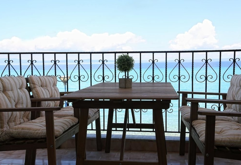 Alkionides Boutique Apartments, Κασσάνδρα, Διαμέρισμα, 1 Υπνοδωμάτιο, Θέα στη Θάλασσα, Δωμάτιο