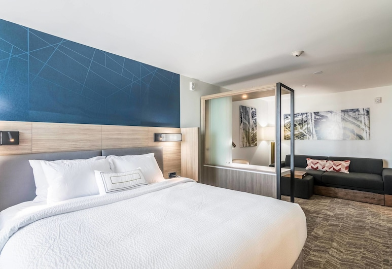 SpringHill Suites by Marriott Oklahoma City Downtown, Oklahoma City, Suite, 1 King Bed with Sofa bed, Guest Room