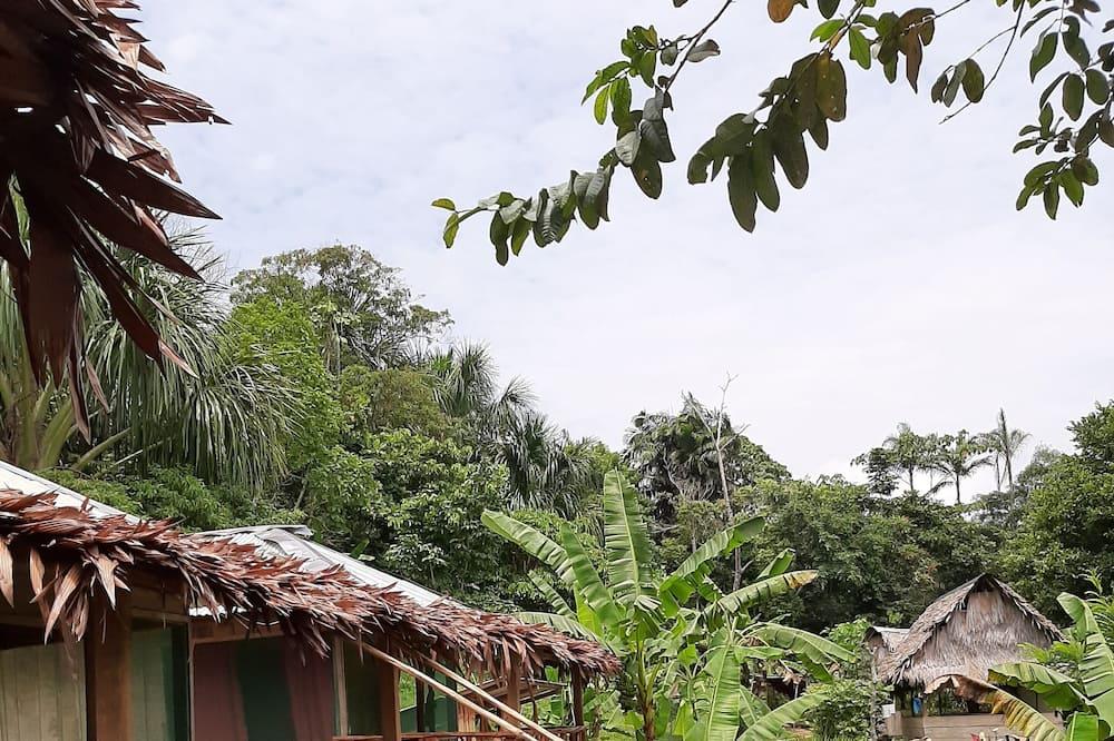 Pokoj se dvěma jednolůžky - Výhled do zahrady