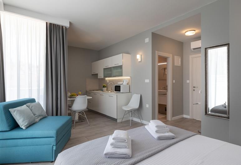 Apartments ZoomZoom, Dubrovník, Štúdio, balkón, výhľad na mesto, Izba