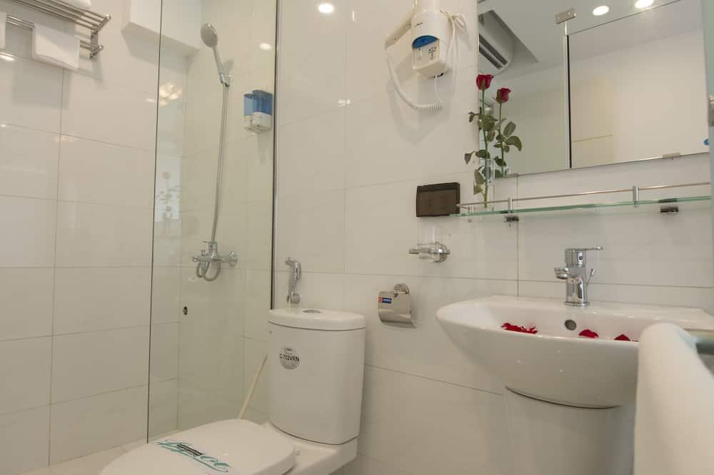 Honeymoon-Suite, Balkon - Badezimmer