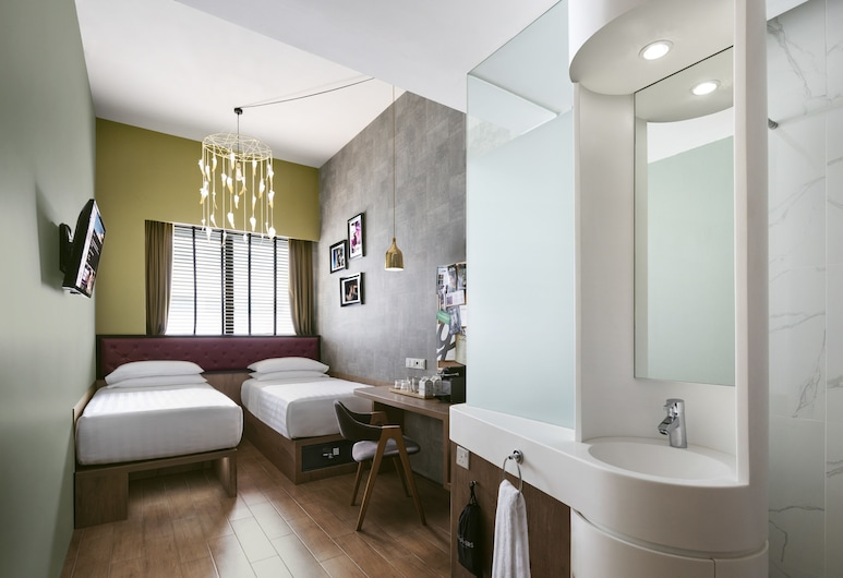 Hotel G Singapore (SG Clean), Σινγκαπούρη, Δίκλινο Δωμάτιο (Twin) (Great), Δωμάτιο επισκεπτών