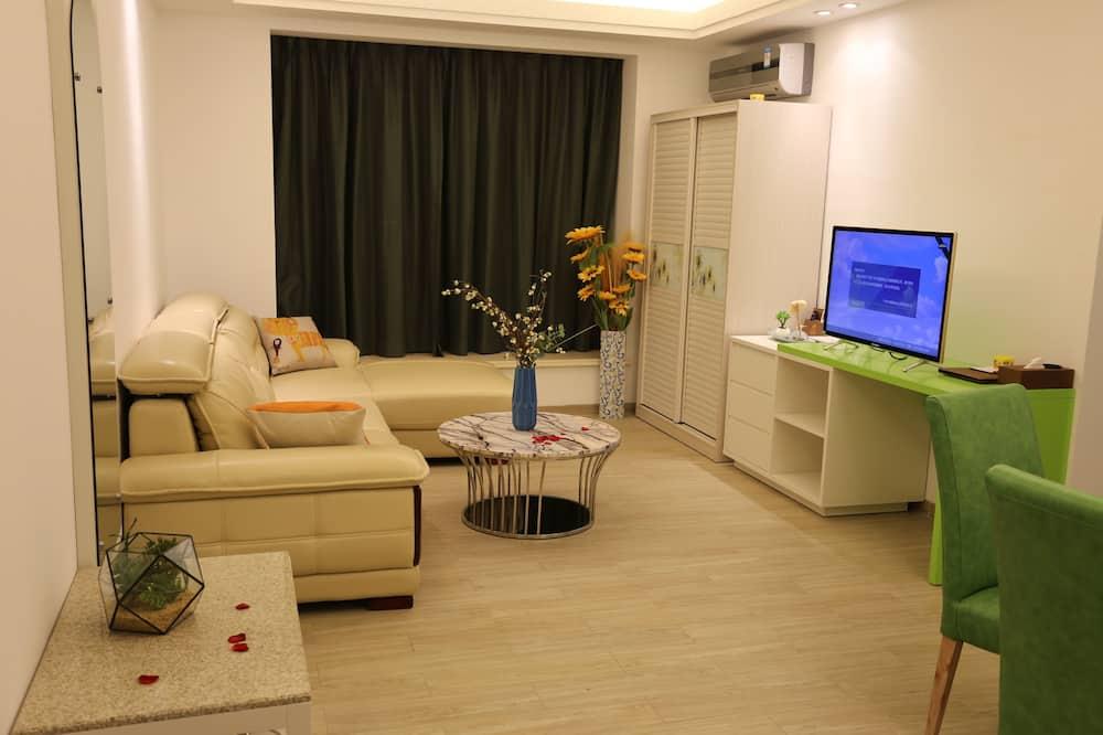 Aukštesnės klasės apartamentai - Kambarys