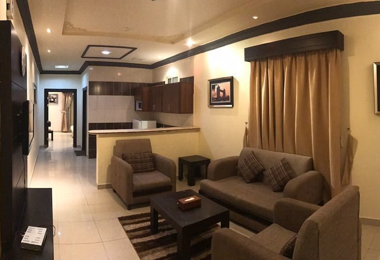 Taleen AlQuds 2 hotel apartments, Riyadh, Living Area