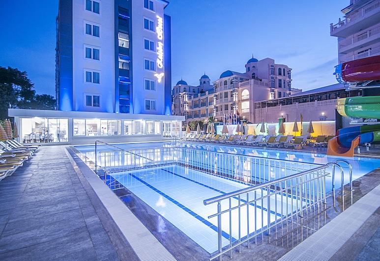 Kolibri Hotel - All Inclusive, Alanya, Piscina Exterior