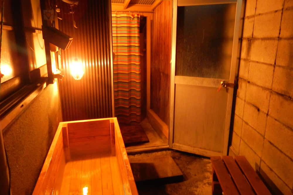 Japanese Style Room (Shower booth unavailable in the same building) - Bathroom