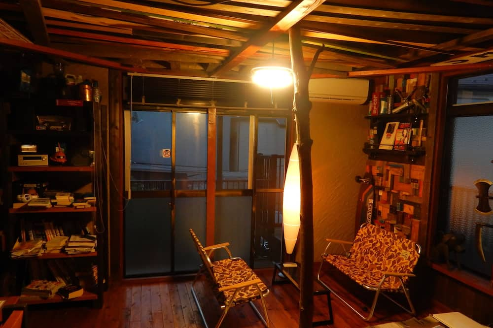 Bunk Bed in Mixed Dormitory Room - Living Room