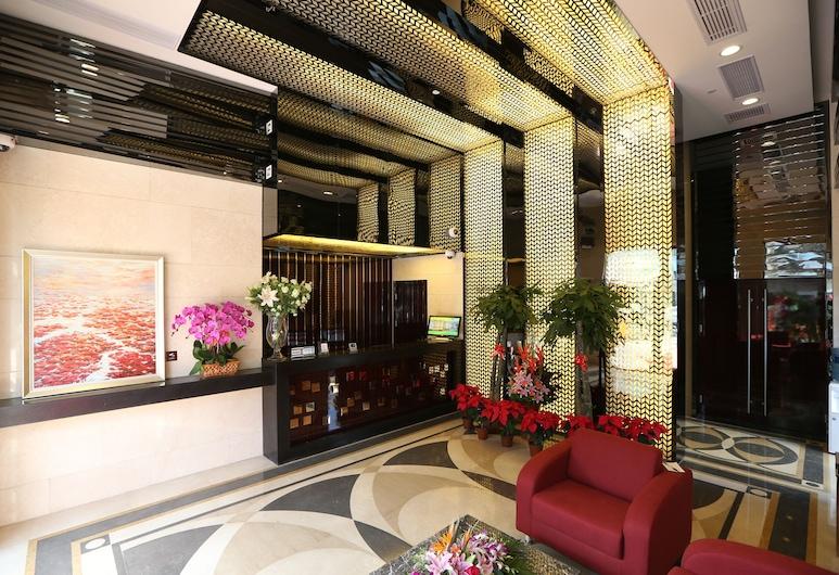 上海富晟國際精品酒店 - 浦東機場川沙迪士尼 1 店, 上海市, 大堂