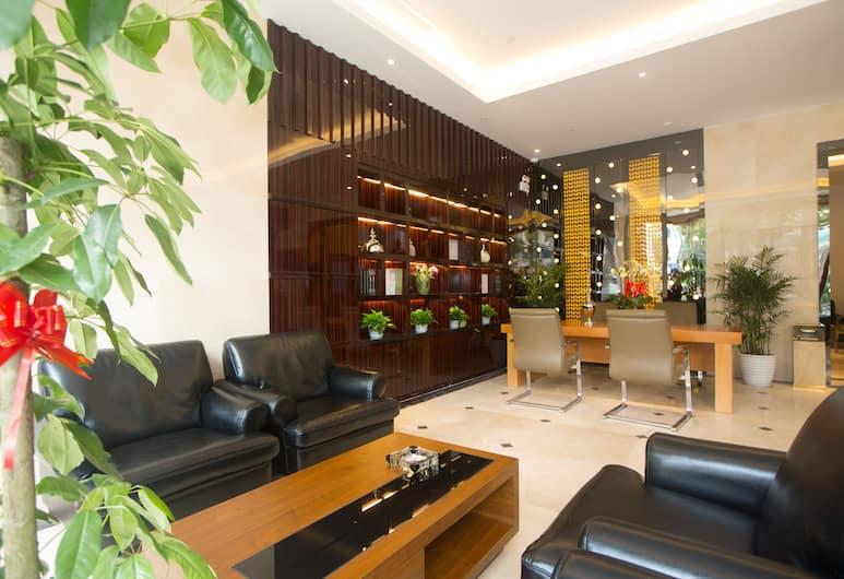 上海富晟國際精品酒店 - 浦東機場川沙迪士尼 2 店, 上海市, 大堂閒坐區