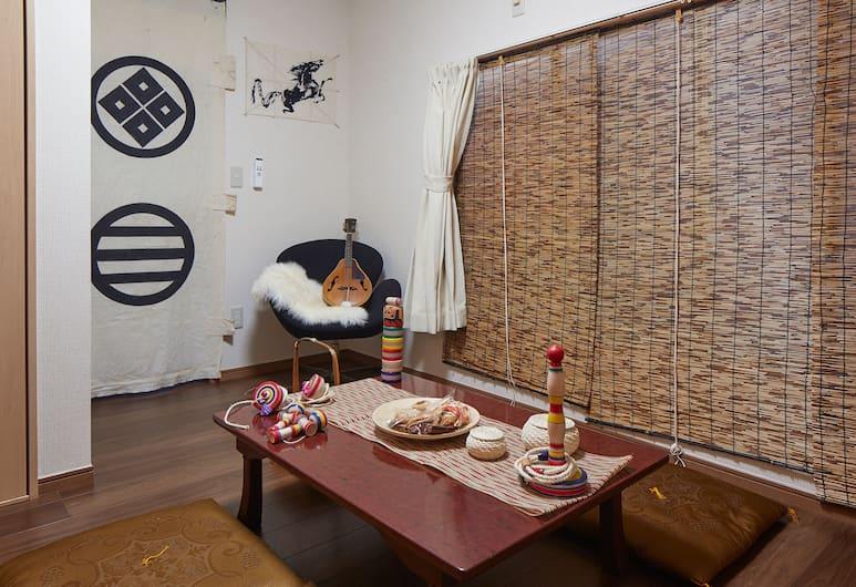 Haneda Mingei Hotel, Tokió, Ház, 3 hálószobával, Nappali rész