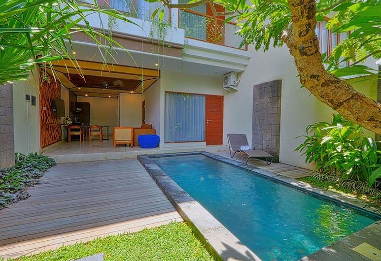 Villa Savvoya Seminyak Bali, Seminyak, Vila, 3 quartos, Vista para o jardim, Área de estar
