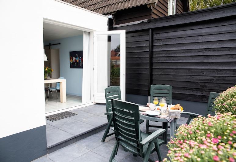 B&B Ons Dijkhuisje, Noordgouwe, Cabaña, 1 habitación, Terraza o patio