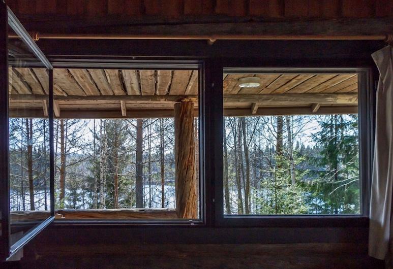 Art Village Rajan Loma, Joensuu, Eco-Art Villa with two bedrooms and sauna, Quarto