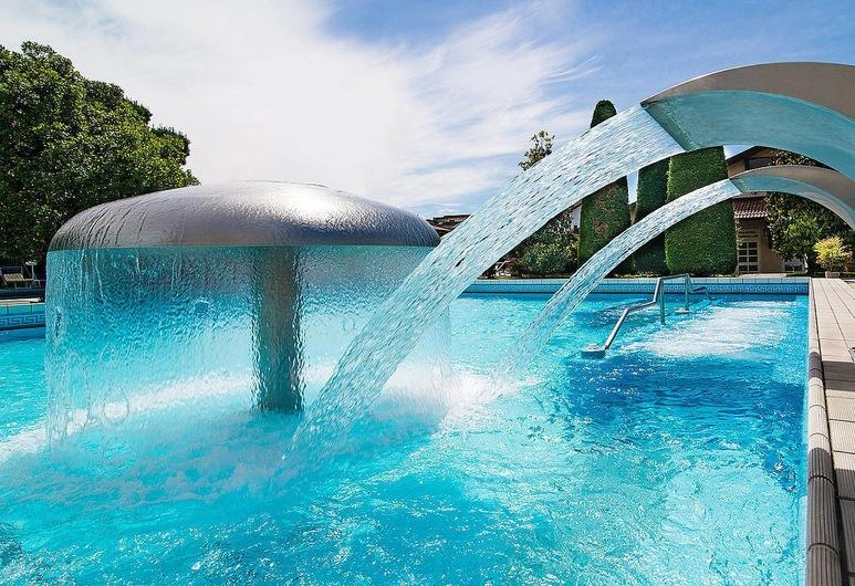 Hotel Terme Antoniano, Montegrotto Terme, Vonkajší bazén