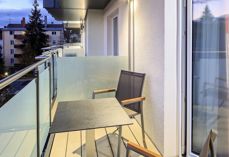 Allgäu ART Hotel Kempten, Kempten, Familiekamer, Toegankelijk voor mindervaliden, Balkon (3 beds), Kamer