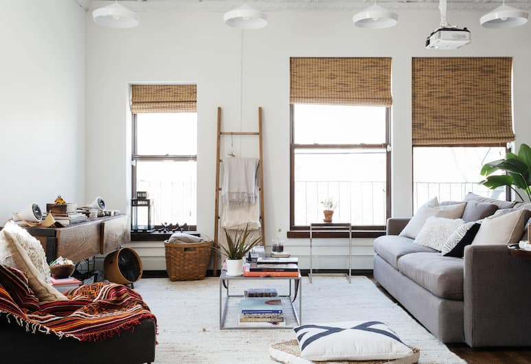 onefinestay - Lower East Side Private Homes, New York, Apartment, 1 Bedroom, Ruang Tamu