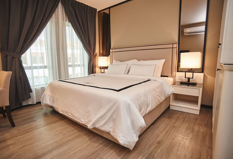 Corsica Hotel, Kulai, Superior Room, 1 King Bed, Guest Room