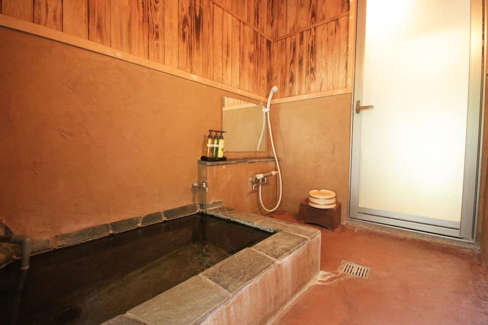 Japanese Style Room with Open Air Bath, Non Smoking - Private spa tub