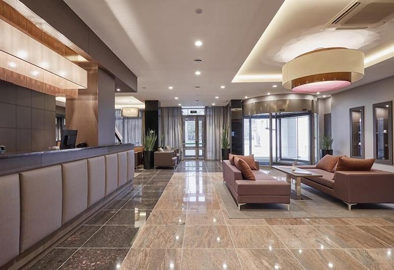 Отель Tenet, Екатеринбург, Стойка регистрации