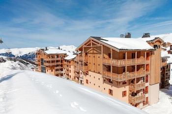 Introduce las fechas para ver los descuentos de hoteles en La Plagne-Tarentaise