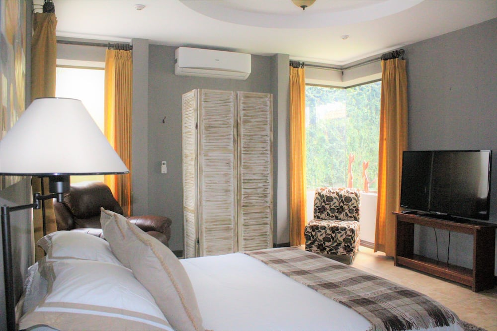Suite estudio Deluxe, 1 habitación, baño privado, planta baja - Habitación