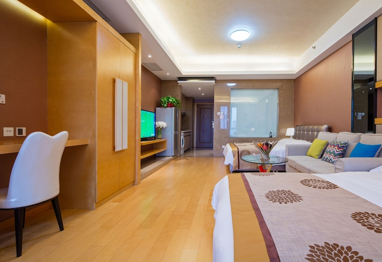 馨香雅苑公寓北京工體三里屯店, 北京市, 溫馨四人間, 客房