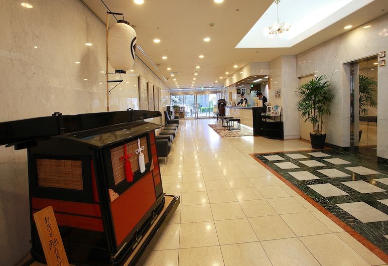 Asakusa Central Hotel, Tokyo, Interior Entrance