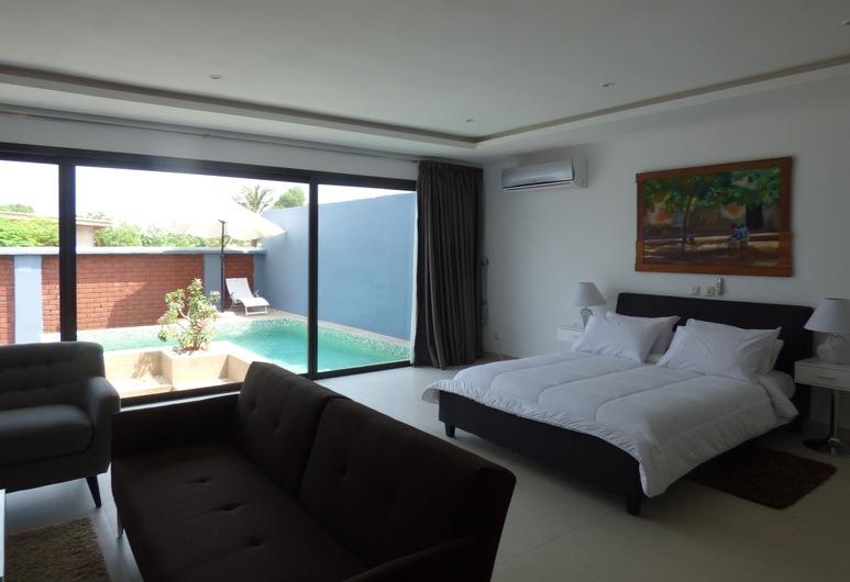Blue Sky Yamaman Lodge, אסיני, סוויטת סטודיו דה-לוקס, חדר אורחים