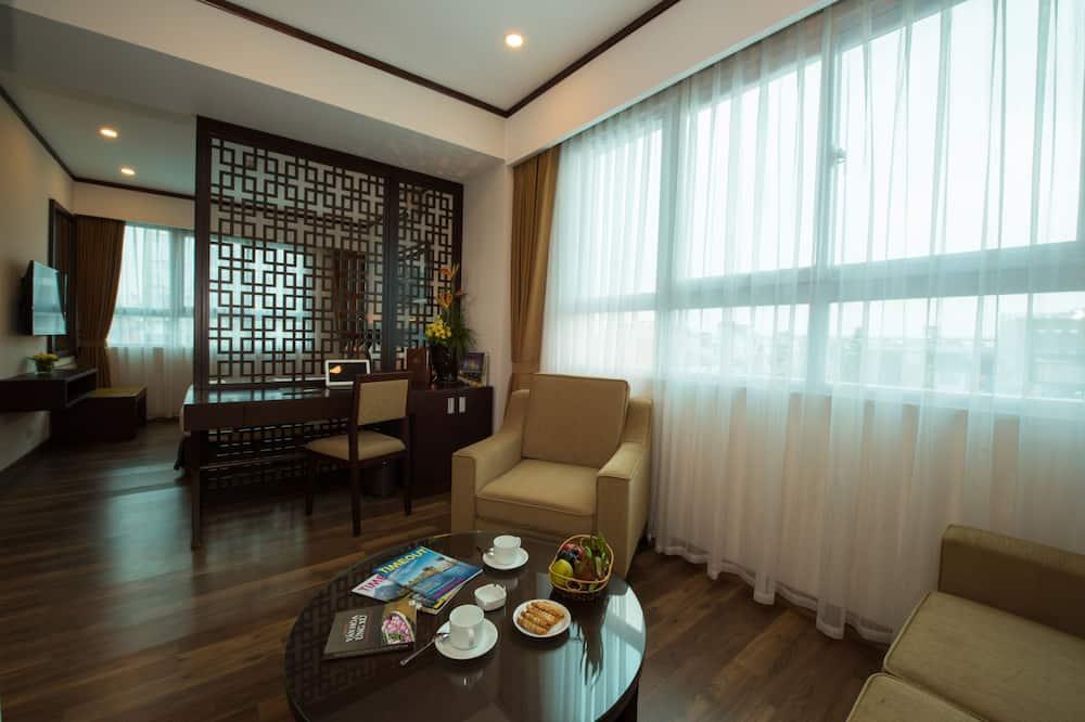 Apartament typu Junior Suite, 1 sypialnia - Salon