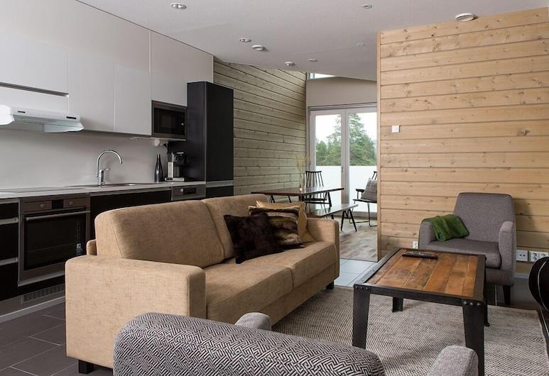 Sandy Kelt, Irish House Apartments, Kalajoki, Elutuba