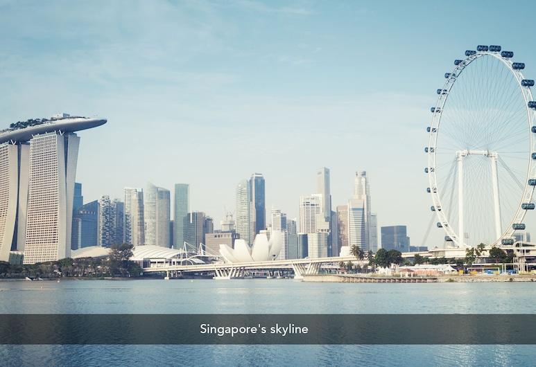 ZEN Premium Kampong Glam, Singapura, Bagian luar