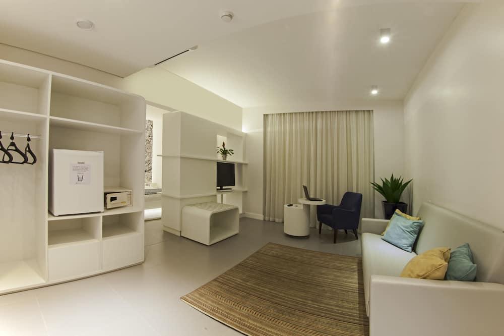 Standard-Doppelzimmer, barrierefrei - Wohnbereich
