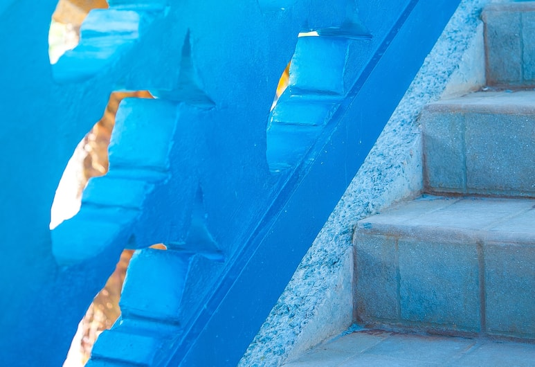 Hotel Los Corales, Roatan, Előterasz