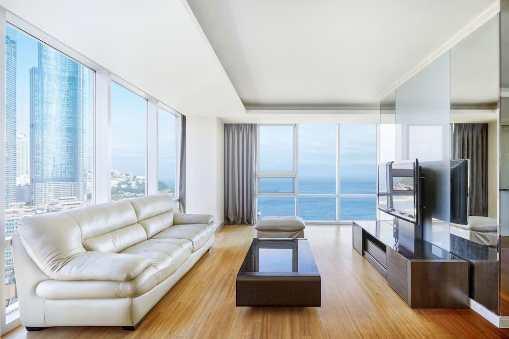 Royal-Suite, Meerblick - Wohnbereich