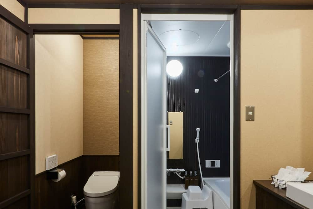 Traditional-Stadtwohnung (Japanese Style) - Badezimmer