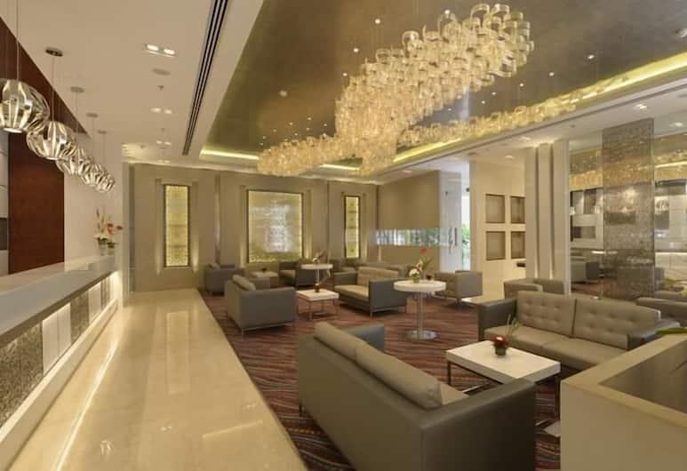 Genesis Hotel Near Mumbai Airport, Mumbai, Sitzecke in der Lobby