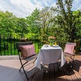 豪華雙人或雙床房, 公園景觀 - 陽台