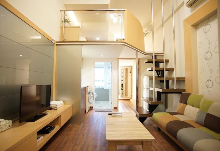 囍門旅店, 台北市, 特色複式房屋, 客廳