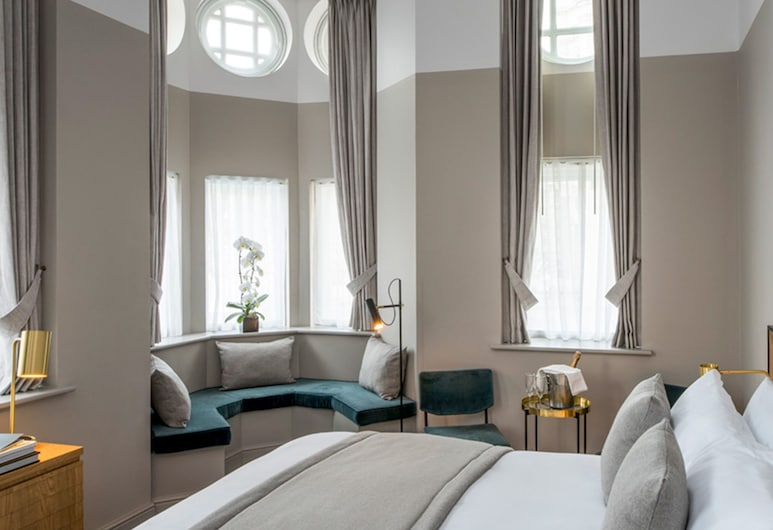 Victory House London Hotel, London, Deluxe-Suite, Ausblick vom Zimmer