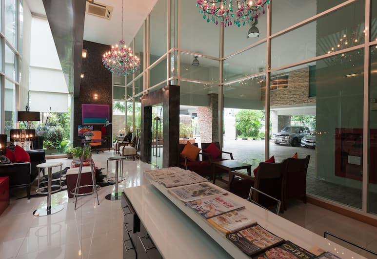 CNC Heritage, Bangkok, Sitteområde i lobbyen