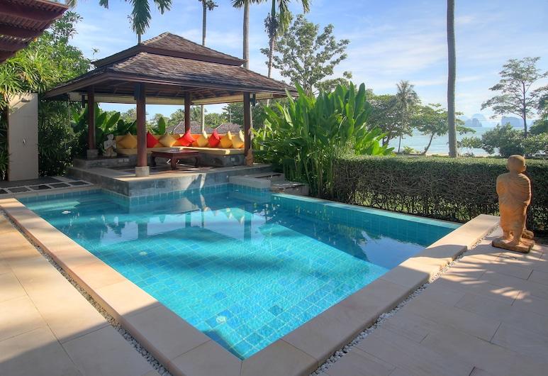 라구나 빌라스 야오 노이, 코 야오, 디럭스 빌라, 침실 2개, 전용 수영장, 부분 바다 전망, 전용 수영장