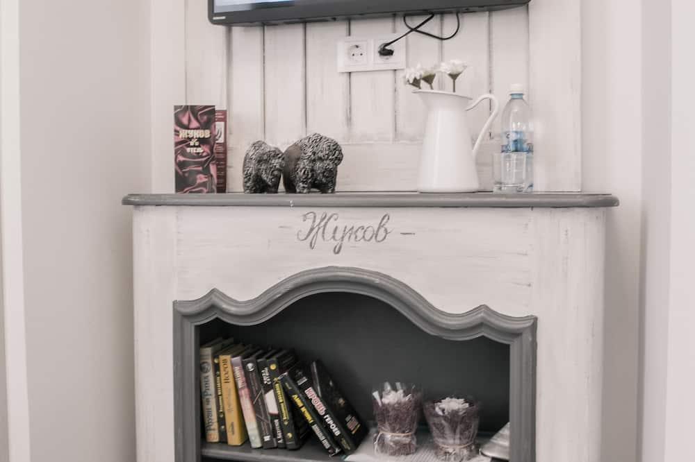 Comfort-herbergi með tvíbreiðu rúmi - Stofa