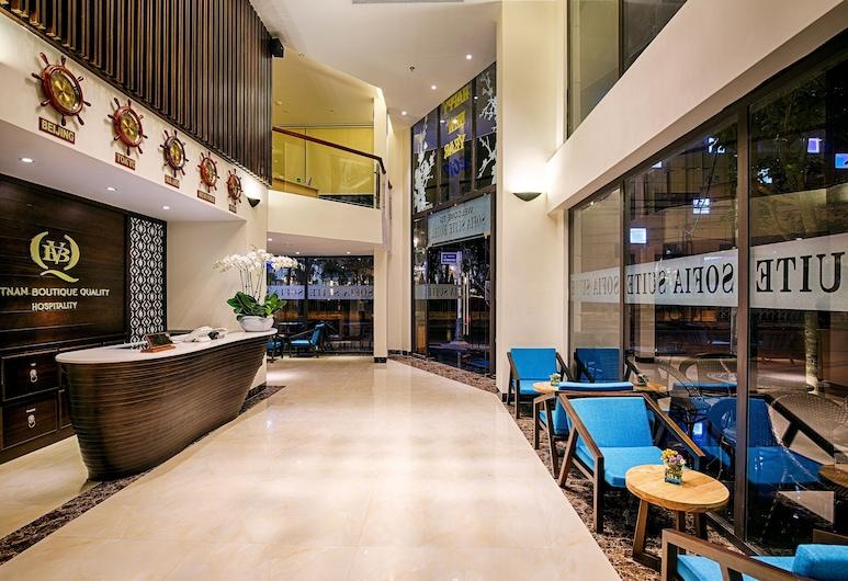 蜆港索菲亞套房飯店, 峴港, 飯店內酒廊