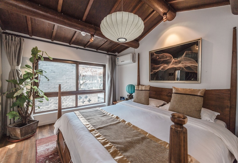 PUREMIND LeZai Boutique Courtyard Hotel, Beijing, Courtyard Double Room, Guest Room