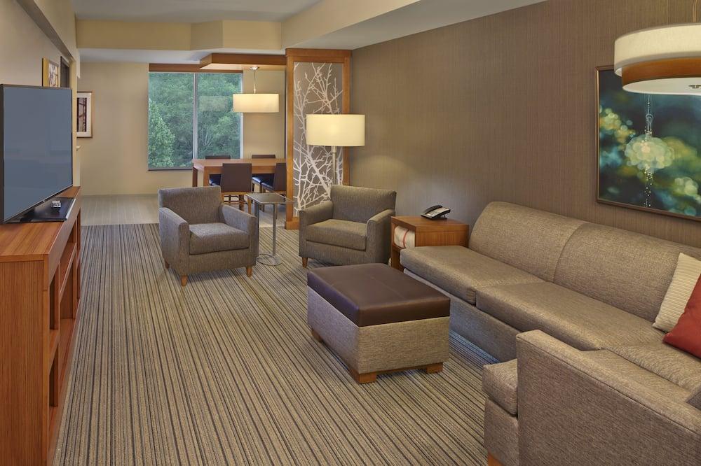 Værelse - flere senge (High Floor,2 Queen and 1 Sofa Bed) - Stue