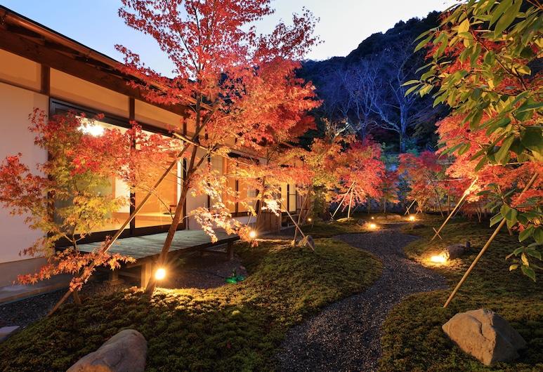 Aoi Philosophers Path Villa, Kyoto, Záhrada