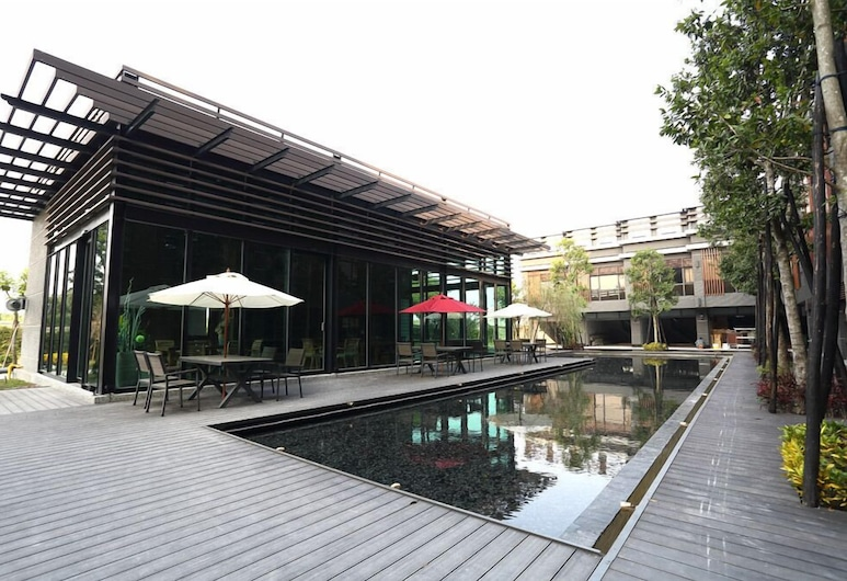 Imperial Dynasty Exquisite Hotel, Dounan, Terasa / vidinis kiemas